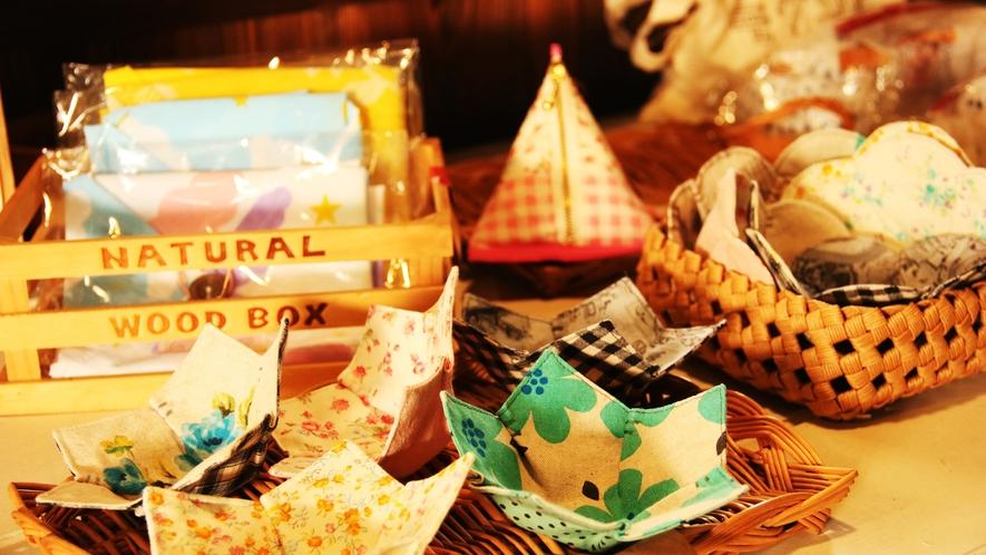 【daigo cafe】おみやげコーナー 可愛い小物がたくさん!