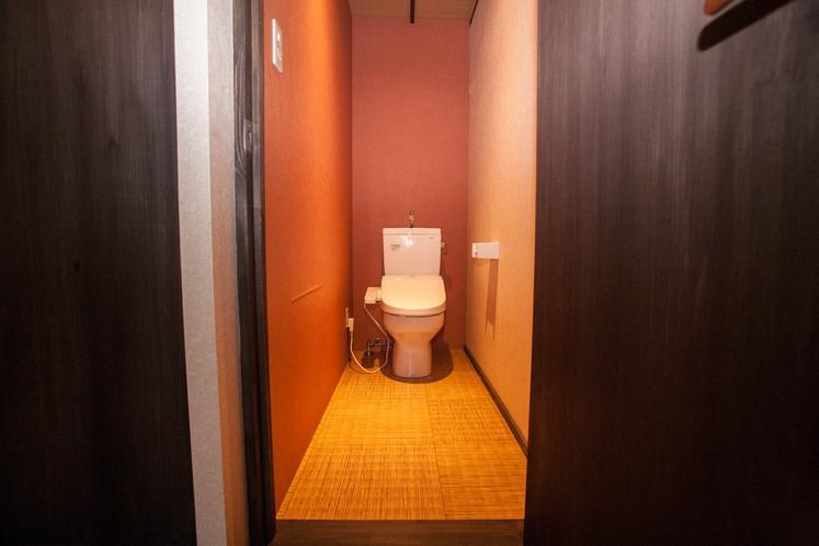 201号室専用トイレ