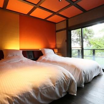 【宵待 yoimati】 岩露天風呂付きの二階建て客室