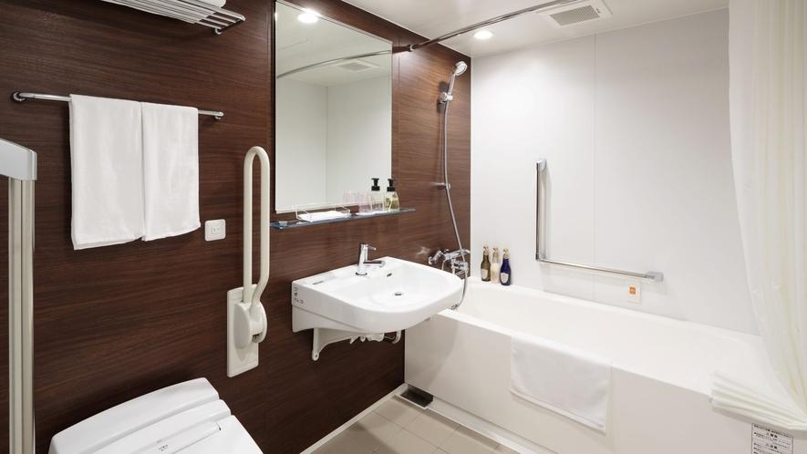 客室内バスルーム(アクセシブルツイン)