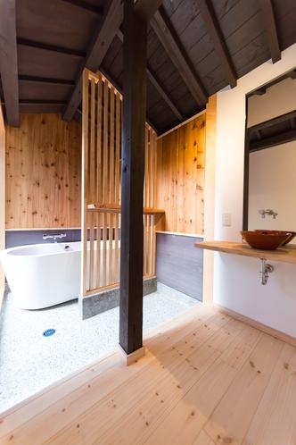 浴室と洗面所