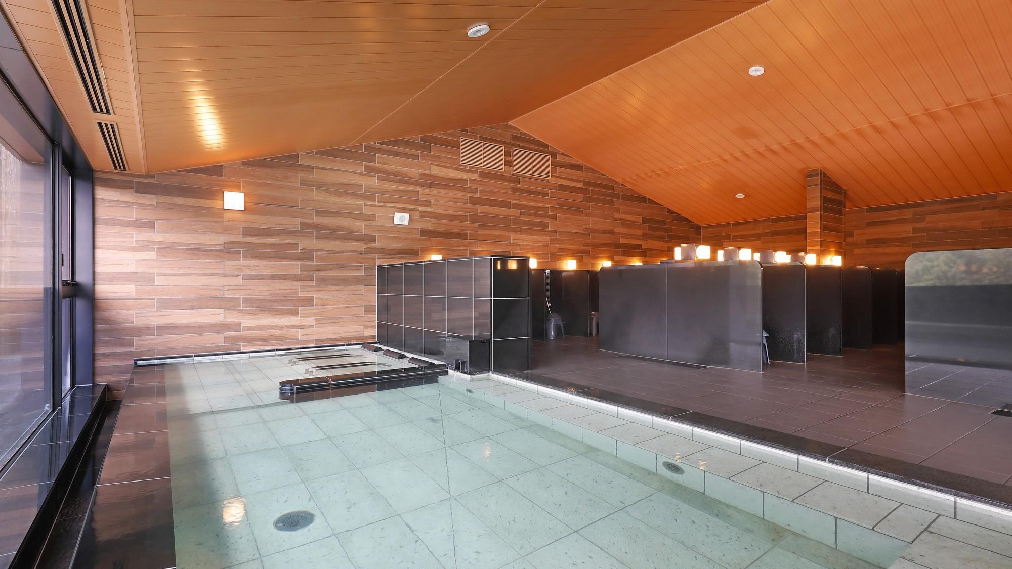 6階大浴場「浮雲の湯」内湯(2)