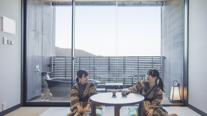 迎賓館「後半」/「松阪牛&国産牛食べ比べしゃぶしゃぶ会席」または「蟹しゃぶ」