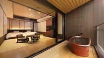 【露天風呂付客室】