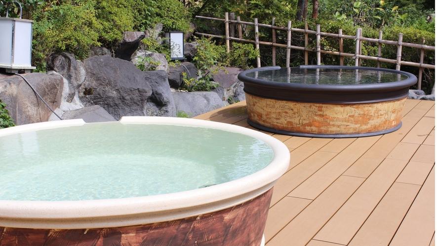 箱根ユネッサン【森の湯】陶器風呂