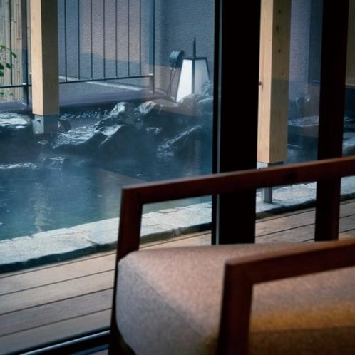 特別室 露天風呂イメージ