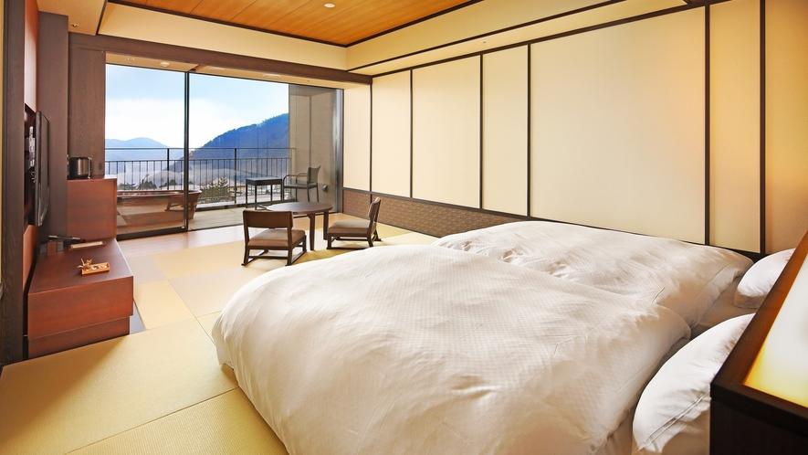 露天風呂付客室(外輪山側)