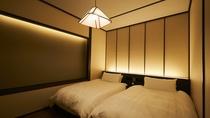 【露天風呂付特別客室「箱根遊山」】「芦ノ湖」のベッドルーム