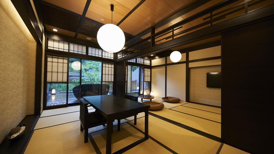 【露天風呂付特別客室「箱根遊山」】芦ノ湖 一例