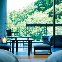 お部屋からの眺めは季節毎に彩りが変化し、一年を通して楽しめます