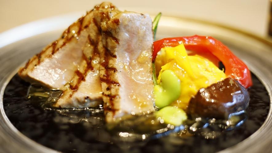 【夕食】国産牛ロースステーキ