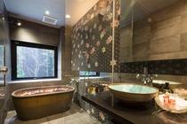 洗面Room&常滑焼バスルーム