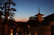 京都夕焼け