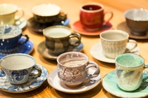 京焼きコーヒーカップ