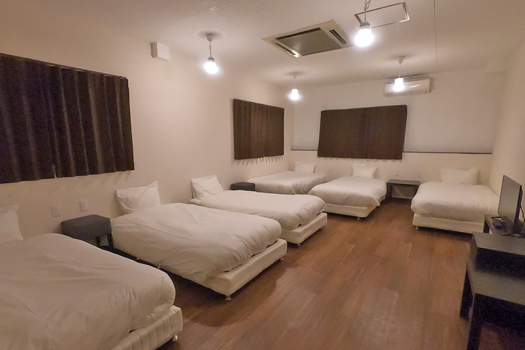 アパートメントルーム(6ベッド)