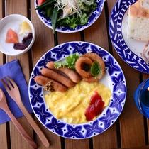 BLUE CAFE/朝食一例