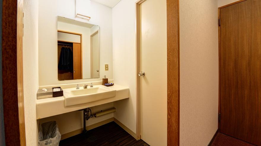 *【客室】全室洗面台付き