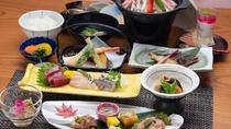 *【ご夕食】旬の食材をふんだんに使ったどこか懐かしい温泉会席料理。