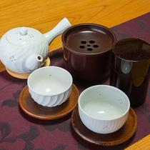 *【客室】お茶セットのご用意もございます。