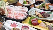 *【豚しゃぶしゃぶ】出汁は抗菌作用の高い足柄茶を使用。ヘルシーで風味豊かなお食事をお楽しみください。