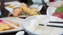 *【お食事】当館では富山県産のコシヒカリを提供しております。