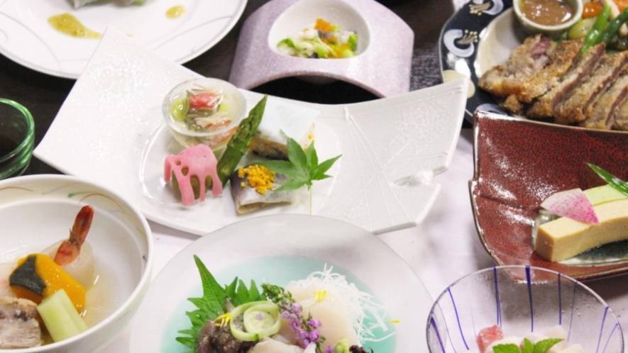 *福島が誇る農産物をふんだんに使った和⾷膳