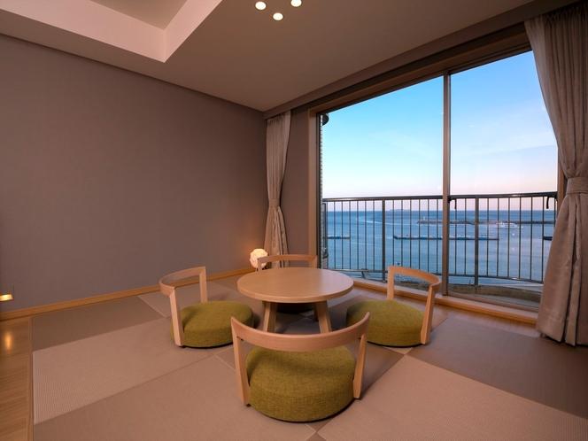 8階新・モダン和洋室(畳スペースからの景色)