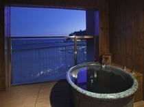 最上階(10階)ジュニアスイート客室露天