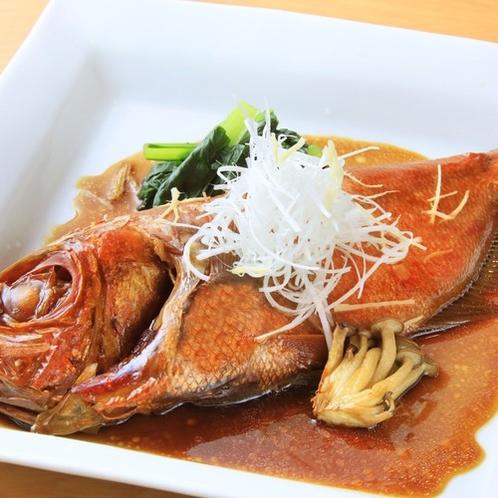 金目鯛の姿煮(夕食:別注料理)