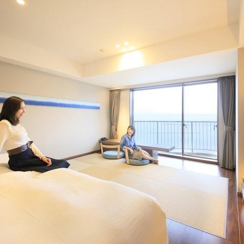 プレミアムビュールーム和洋室(9階)