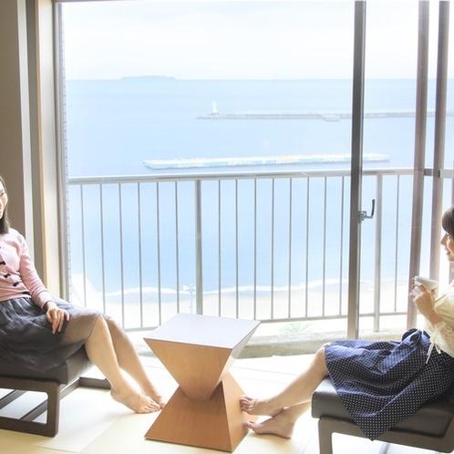 ロイヤルスイート(10階)窓からの景色