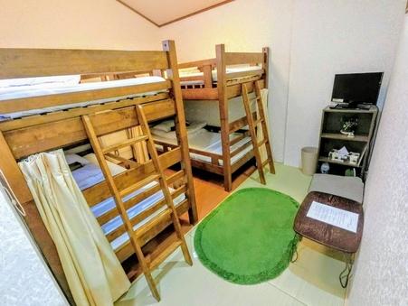 女性専用 洋室1〜4名様部屋 個室