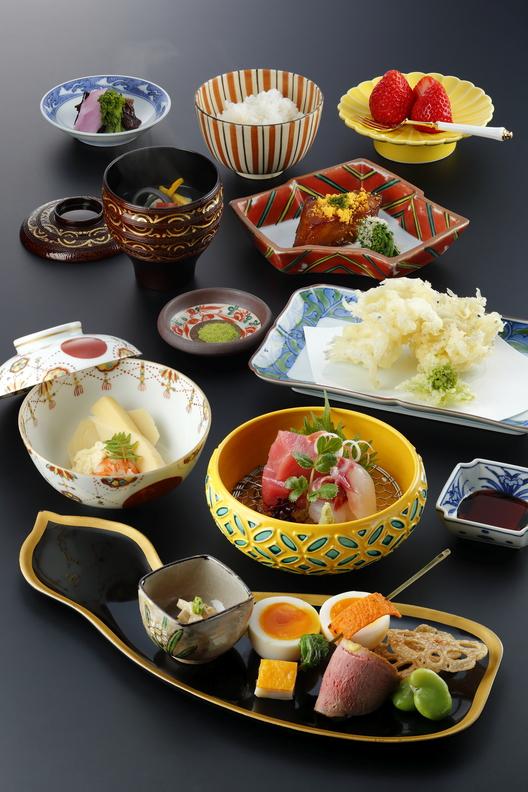 夕食(ミニ会席料理)