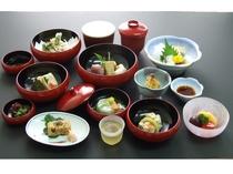 夕食(精進鉄鉢料理)