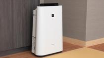 【全室】加湿機能付き空気清浄機設置