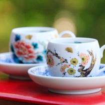 九谷焼のコーヒーカップで愉しむ~伝統の美~