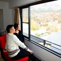 【客室】眺望が自慢のお部屋でリラックスのひと時