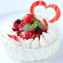 【記念日に】専属パティシエ特製ケーキ