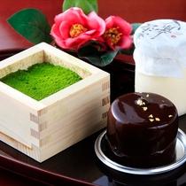 <カフェ・ド・天翠>オリジナルケーキ
