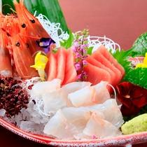 新鮮なお造り~日本食の美~
