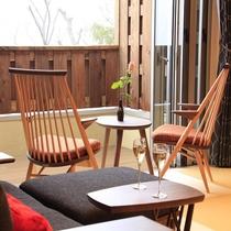 【離れ/風】客室タイプS ~お部屋から箱根の山々の眺望を愉しむ~
