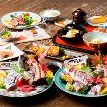 お食事|関アジ・関サバをご堪能いただけます