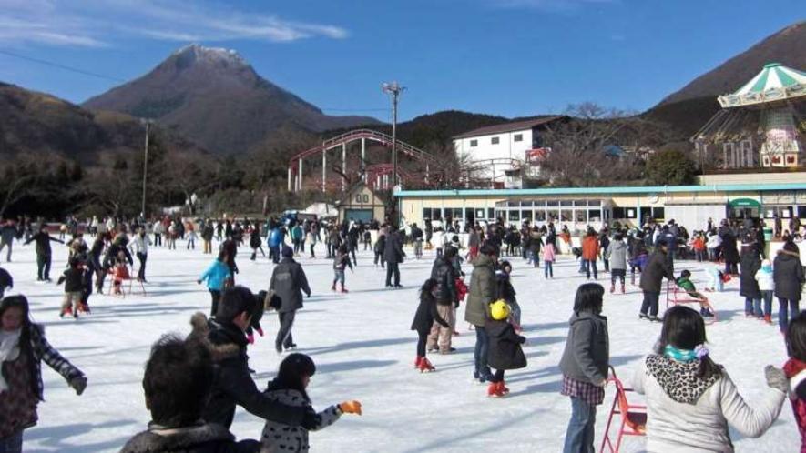 【城島高原アイススケートリンク】九州最大級のアイススケートリンク!大人から子供まで楽しめます☆