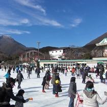 【周辺観光】城島高原アイススケートリンク