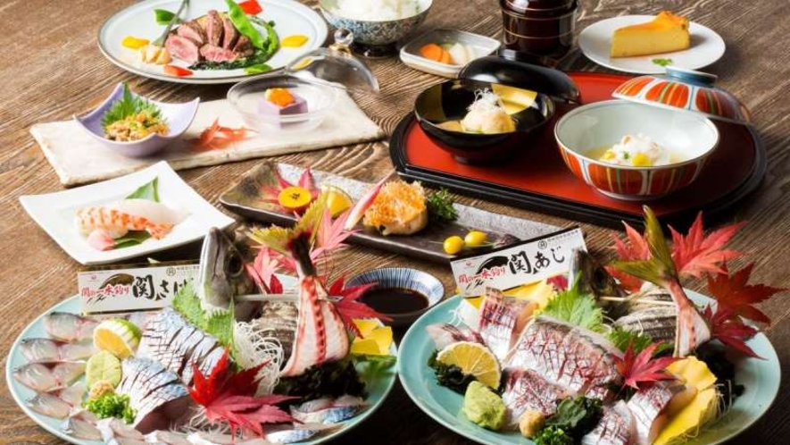 お食事|関アジ・関サバをお愉しみいただけます