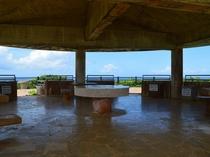 【宮古島】海沿いを走る県道83号線沿いにある展望スポット「比嘉ロードパーク」