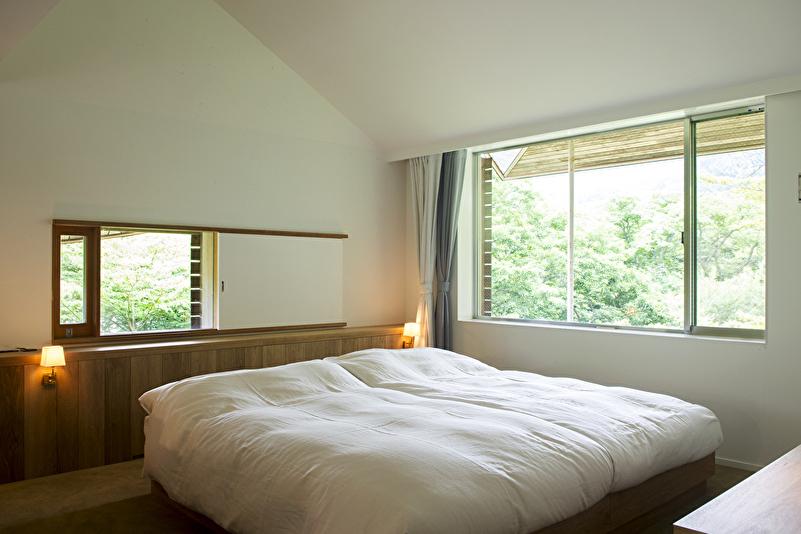 フォーレスイート 109平米 ベッドルーム1※ベッドルームはもう一部屋ございます。最大定員4名。