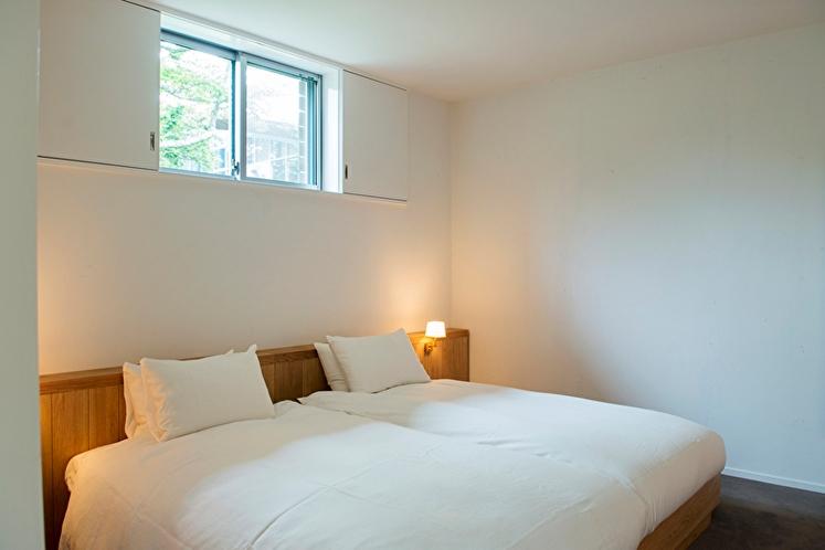 デラックスダブル 54平米 ベッドルーム