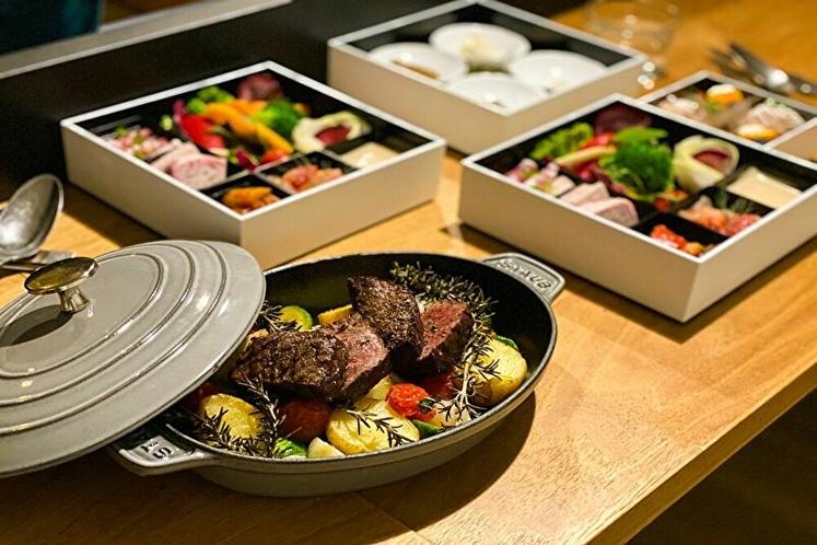 インルームダイニング:夕食(部屋食)イメージ