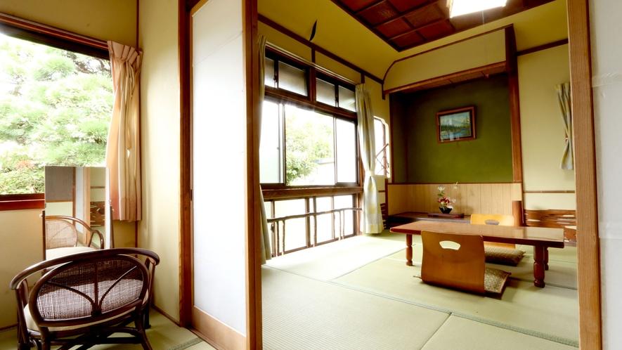 和室8畳のお部屋